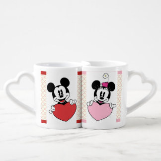 Canecas de Mickey e de Minnie