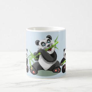 Canecas do urso de panda, canecas de café da panda