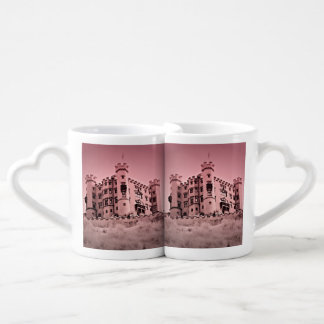 Canecas gêmeas do castelo