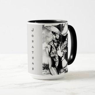 """Canecas grandes personalizadas das """"vaqueiro &"""