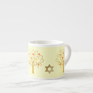 Canecas judaicas do café do presente do ano novo |
