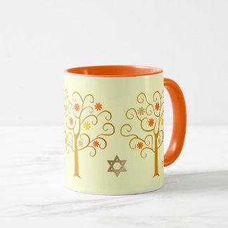 Canecas judaicas do presente do ano novo | Rosh
