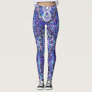 Caneleiras ambarinas do design legging