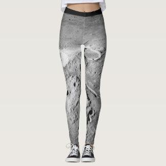 Caneleiras da superfície lunar | legging