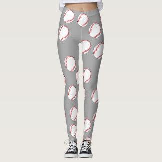 Caneleiras do basebol legging