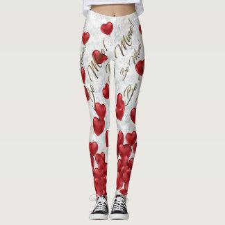 Caneleiras do dia dos namorados legging