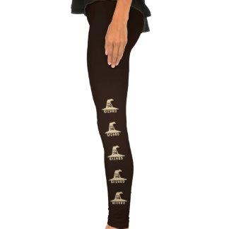 Caneleiras do feiticeiro da ciência calças coladas
