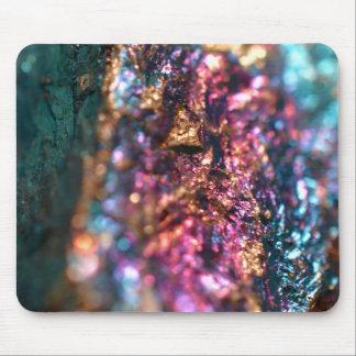 Caneleiras do minério de pavão mouse pad