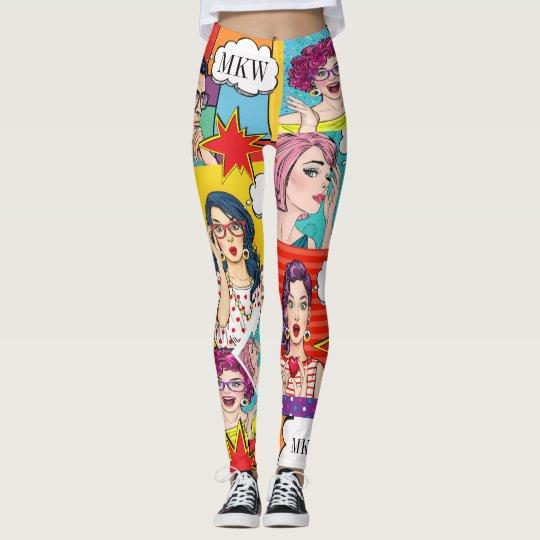 Caneleiras do pop do POP ART Legging