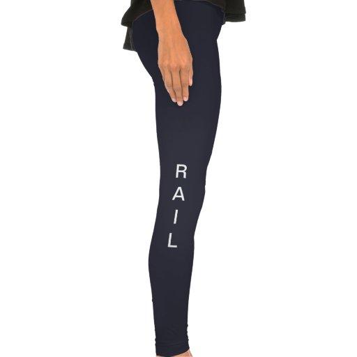Caneleiras do trilho calça legging