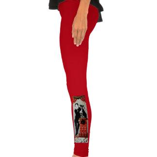 Caneleiras festivas calça justa