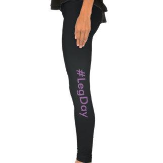 Caneleiras #LegDay Calças Leggings