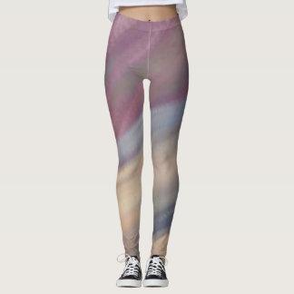 Caneleiras macias das cores leggings
