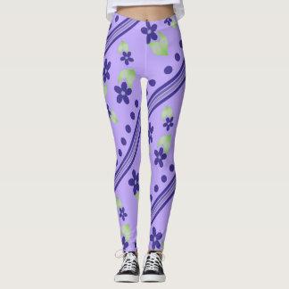 Caneleiras malva leggings