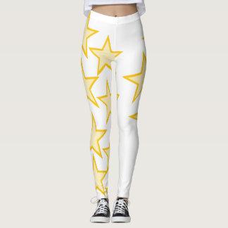 Caneleiras super da estrela legging