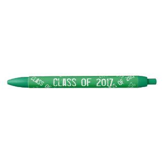 Caneta Preta Classe do branco 2017 verde