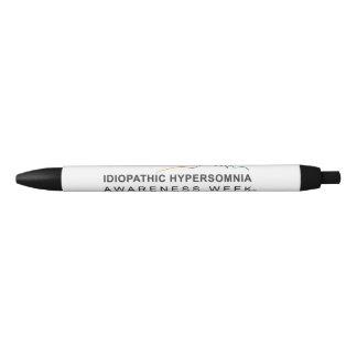 Caneta Preta Consciência idiopática Week® do Hypersomnia da