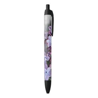 Caneta Preta Florescência do Lilac