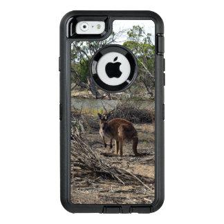 Canguru em Billabong, caso do iPhone 6/6S de