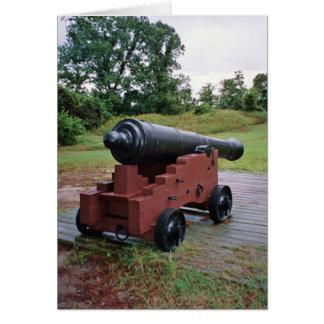 canhão 4 no cartão de williamsburg