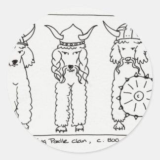 Caniche de Viking Adesivo