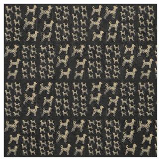 Caniches de linho do tecido feitas sob encomenda