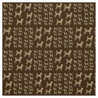 Caniches do tecido do poliéster feitas sob