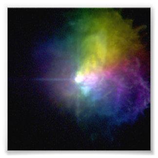 Canis Supergiant Majoris da estrela VY Impressão Fotográficas