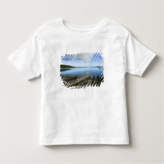 Canoas na praia, Antananarivo, Madagascar Camiseta Infantil