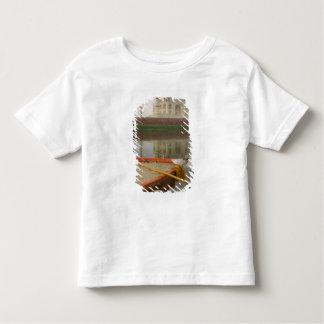 Canoe na água com Taj Mahal, Agra, India T-shirts