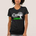 Cansado da camisa do zombi de Lyme Tshirts
