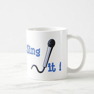 Cante-o! Caneca De Café