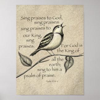 Cante o elogio! poster