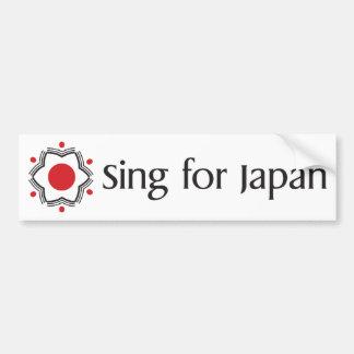 Cante para Japão - mercadoria do logotipo Adesivo Para Carro