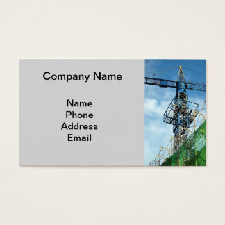 Canteiro de obras do Highrise Cartão De Visitas