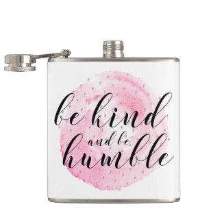 Cantil A aguarela seja amável e seja citações humildes