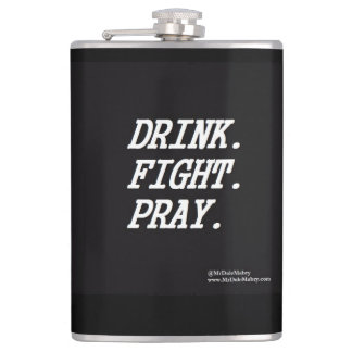 Cantil A luta da bebida Pray a garrafa