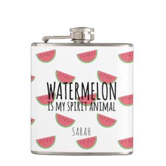 Cantil A melancia engraçada é minha garrafa do animal do