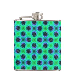 Cantil Abstrato geométrico azul roxo verde