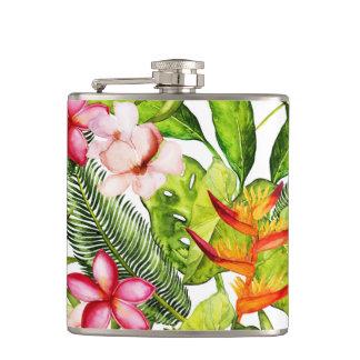 Cantil Aloha flores exóticas tropicais da selva