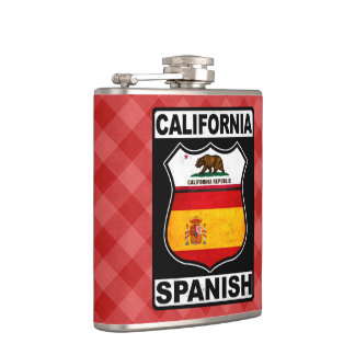Cantil Americano espanhol Hipflask de Califórnia