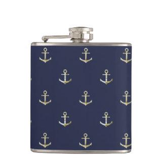 Cantil Âncora náutica dos azuis marinhos