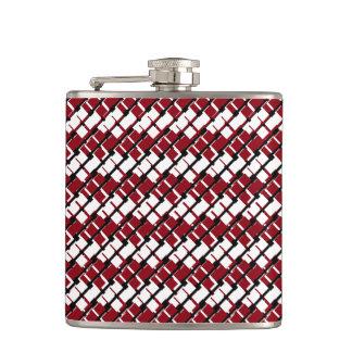 Cantil Argyle vermelho & branco original e legal