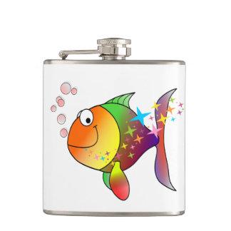 Cantil Atum do Oceano Pacífico da cor do arco-íris multi