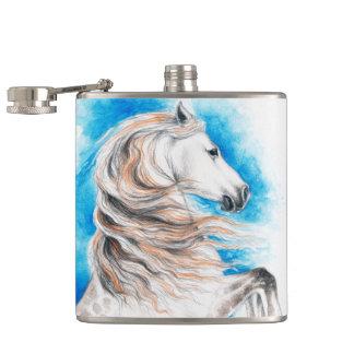 Cantil Azul andaluz do cavalo