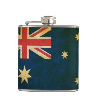 Cantil Bandeira de Austrália do Grunge do vintage