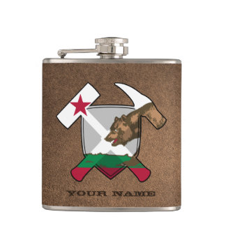 Cantil Bandeira de Califórnia do protetor do martelo da
