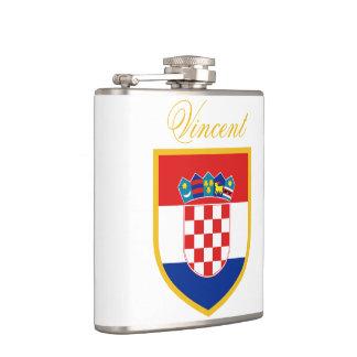 Cantil Bandeira de Croatia personalizada