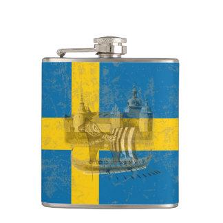 Cantil Bandeira e símbolos da suecia ID159