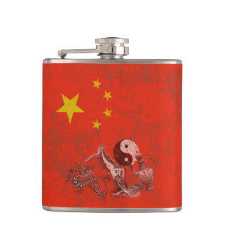 Cantil Bandeira e símbolos de China ID158